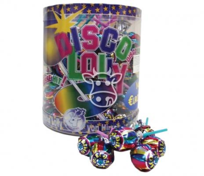 Hirsch Disco Lolly Cola - 10 stuks