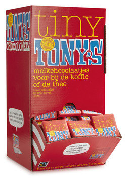 TONY'S CHOCOLONELY: NAPOLITAINS MELK (mini tony's)