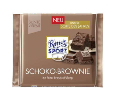 Ritter sport chocolade brownie