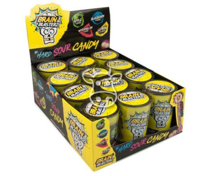 Brain Blasterz Sour Candy Container 48 gr.