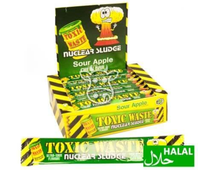 Toxic Waste Apple Chew Bar 20 gr.