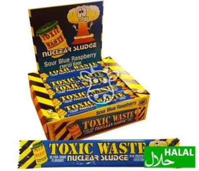 Toxic Waste Blue Raspberry Chew Bar 20 gr.