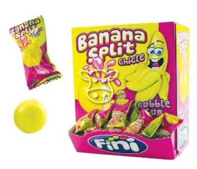 Fini Liquid Banana Split Gum 5 gr.