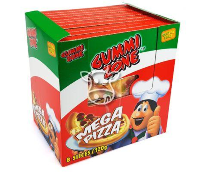 Gummi Zone Mega Pizza 120 gr.