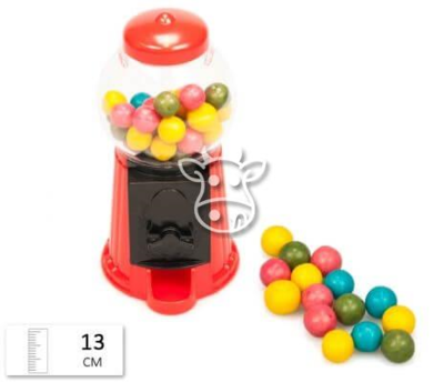 Bubble Gum Vendor Machine (5 Inch)