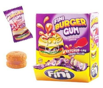 Fini Burger Bubble Gum 5 gr.
